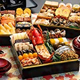 博多久松 和洋折衷本格料亭おせち 博多 特大8寸3段重 全46品 おせち料理 お届け日(2020年12月31日)着