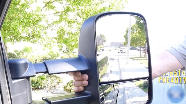 Power Heated Towing Mirrors for 2014-2018 Chevy Silverado 2014-2018 GMC Sierra with Black Housing 050910-5209-1721346531 OCPTY Rearview Mirrors
