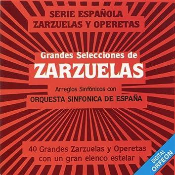 Grandes Selecciones De Zarzuelas