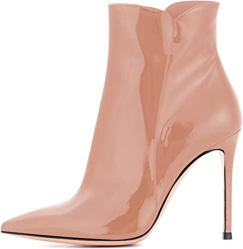 EDEFS - Sautope da Donna - Stivali con Tacco Alto Donna - Stivali Donna - Moda Caviglia Stivali Inverno