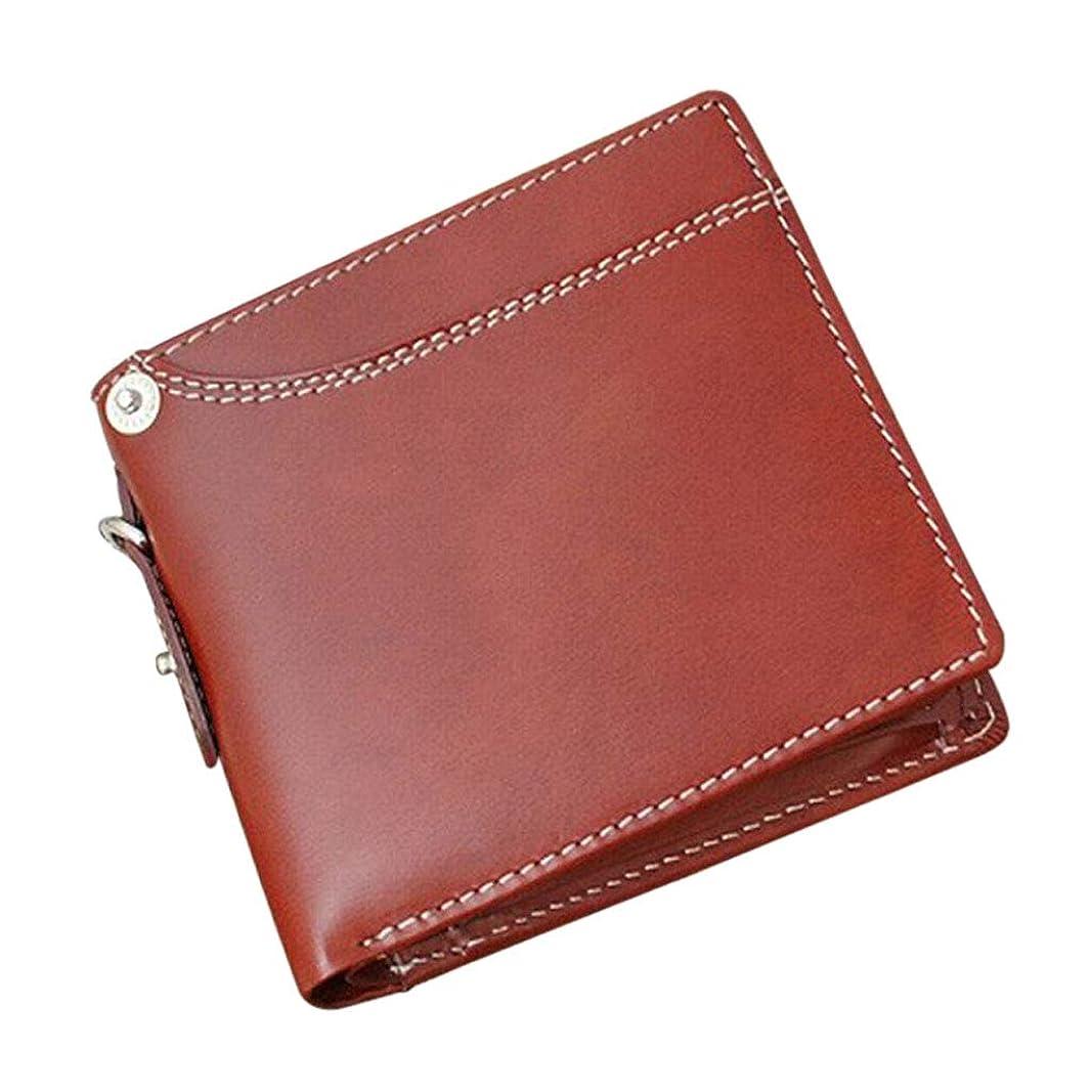 一瞬重々しいコンテンポラリー取寄品 Igginbottom ボンデッドレザー ベラ付き二つ折り財布 サラマンダー社コラボ限定品 IG-703 メンズ財布