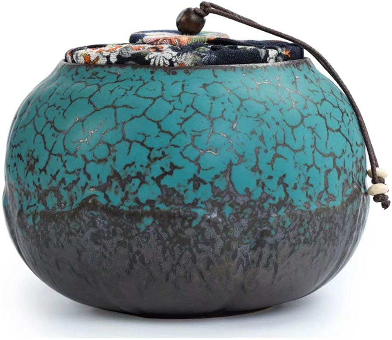 Cremation Urns Ceramic Celadon Creative Mini Waking Tea Pot Sealed Cans Tea Pots