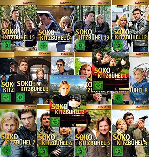 SOKO Kitzbühel - Box 1-15 (30 DVDs)
