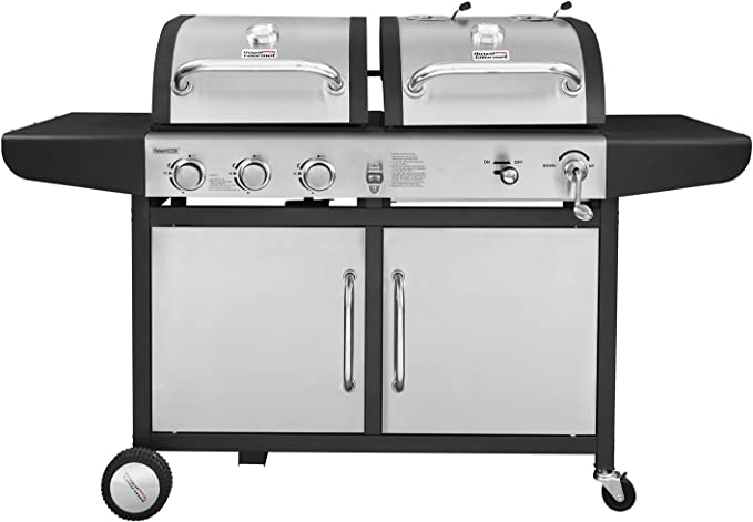 Royal Gourmet ZH3002-S 3-Burner Gas Charcoal Grill Combo - Best Design