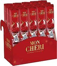 Mon Chéri - Thekendisplay mit 15 Packungen á 5 Einzelpralinen, Schokopralinen mit aromatischem Kirsch-Likör umhüllt von köstlicher Halbbitterschokolade