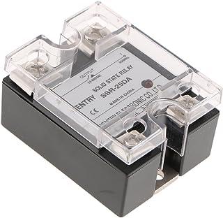Homyl Relé de Estado Sólido: Interruptor de CA y CC y Control de Temperatura Herramientas de Alta Calidad - 25a