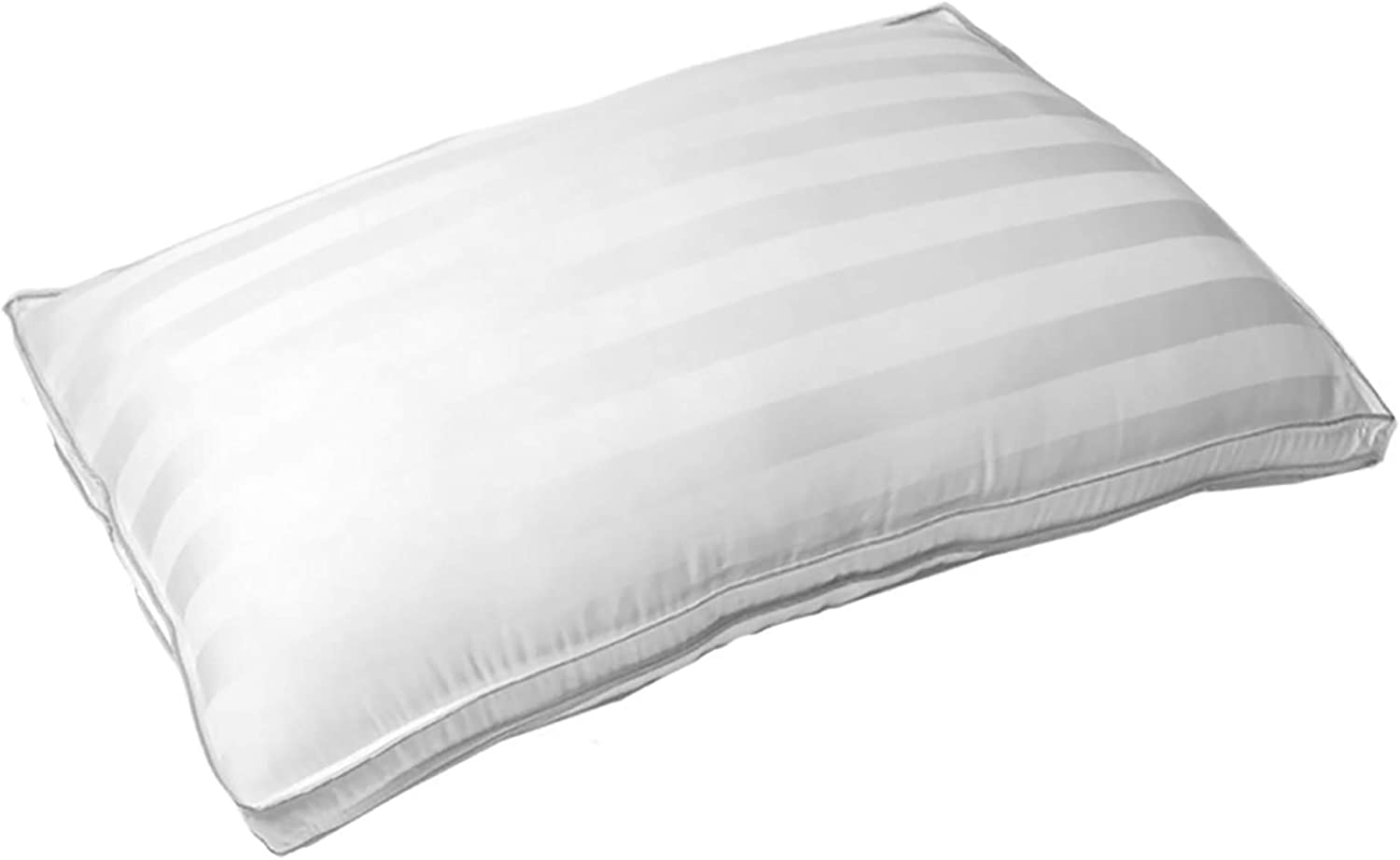 Cariloha Micro-Gel Pillow 100% Bamboo Cover - Micro-Gel Fibers to Prevent Pillow Clumping (King)