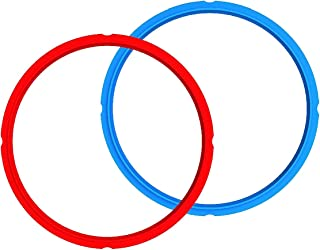 Genuine Instant Pot Sealing Ring 2-Pack – 6 Quart Red/Blue