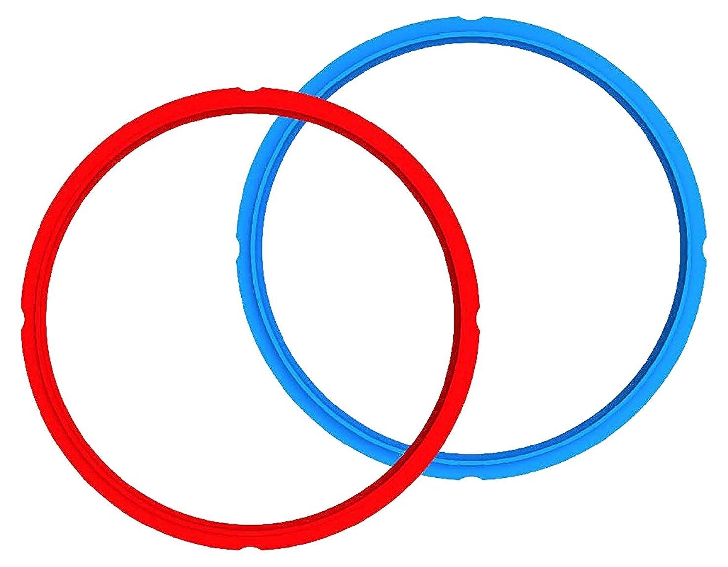 Genuine Instant Pot Sealing Ring 2-Pack - 6 Quart Red/Blue ocokyvkewfeyl7