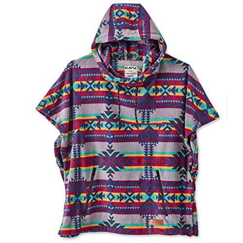 KAVU Women's Overlook Athletic Hoodies, Medium, Canyon Blanket