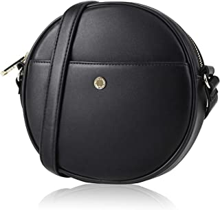 Round Purse for Women Canteen Purse Round Crossbody Bag Circle Purse Clutch by The Lovely Tote Co.