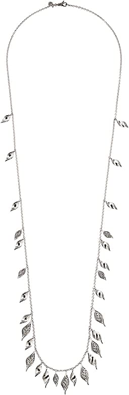 Classic Chain Wave Necklace