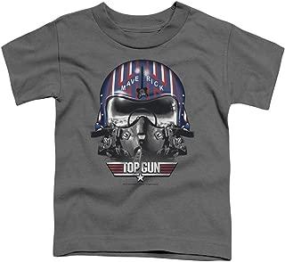 Top Gun Maverick Helmet Little Boys Shirt