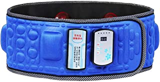 N.NIU Lower Back Massager, Massage Belt, Wireless Charging Plug-in Dual-Purpose, Vibration Heating Slimming Thin Belly Belt Shaping The S Curve,C