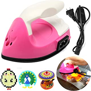 GENERIC Mini Electric Iron compatible for Rhinestone DIY Hama Bead Perler Beads Tools 3D Puzzle Toys Clamping Tools