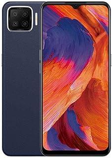موبايل اوبو A73 بشريحتين اتصال – 6.44 بوصة، ذاكرة 128 جيجابايت، ذاكرة RAM 6 جيجابايت، 4G LTE - كحلي