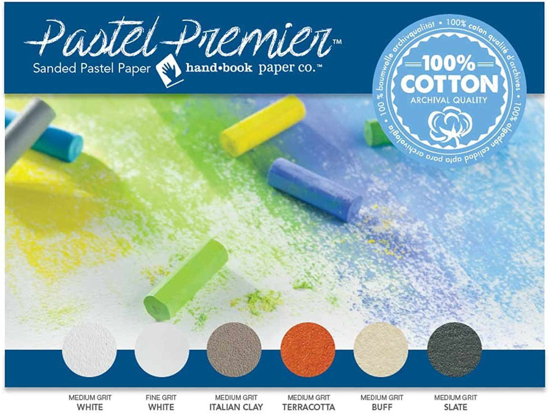Pastel Premier Sanded Pastel Paper 12X16 Asst by Handbook Paper B01INL2AGO | Sale Online
