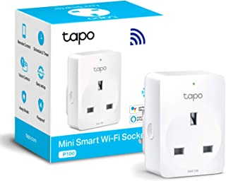 TP-Link Tapo Smart Plug Wi-Fi Outlet, Works with Amazon Alexa (Echo and Echo Dot), Google Home, Wireless Smart Socket, Rem...