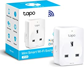 TP-Link Tapo Smart Plug Wi-Fi Outlet, Compatible with Alexa (Echo and Echo Dot), Google Home, Wireless Smart Socket, Remot...