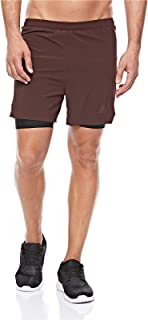 Brandblack Sports Lifestyle Short For Men - Cocoa Brown, Size Small