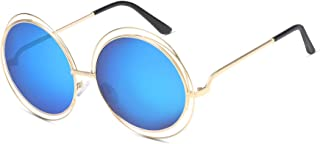 Classic Stylish Women's Sunglasses, Metal Spectacle Frames