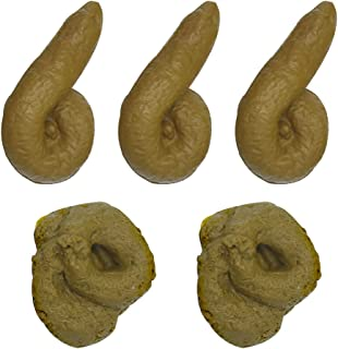 YYYux Fake Poop Novelty Prank Gift, Party Birthday April Fool's Day Trick Toys (Fake Poop)