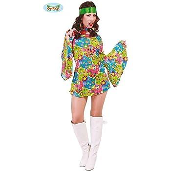 EraSpooky Disfraz de Hippie de los Años 60 para Mujer Cosplay ...