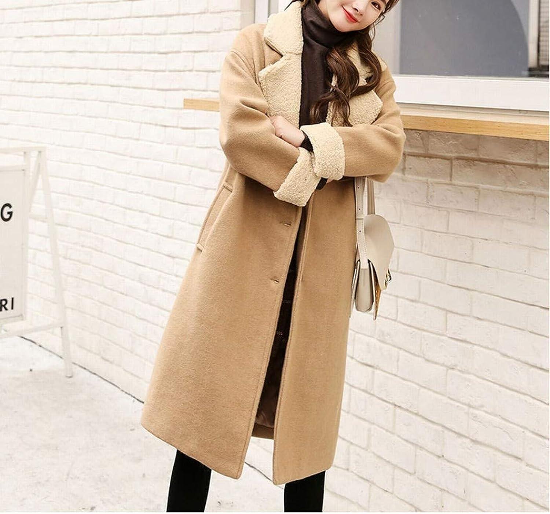 Coat Jacket, Woolen Coat, Winter Woolen Coat, Female Long Slim Slimming Coat, Versatile Coat PLLP