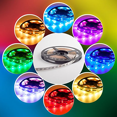 Preisvergleich Produktbild Mextronic LED Streifen LED Band LED Strip 5050 RGB 72W 500CM 24V IP20
