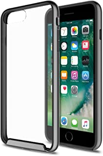 XDesign iPhone 7 Plus Case [Inception Series] Protective Case For iPhone 7 Plus 5.5 inch (2016)[Scratch Resistant] integrated Shock-Absorbing Bumper Cover Hard Clear Back -[Grey/Clear]