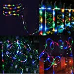 LED Fairy Rope String Lights - Liwiner USB Powered 33FT 100 LED String Light with Remote Timer 8 Mode Dimmable Strip… 15
