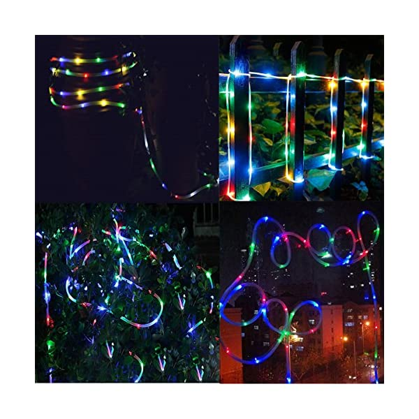 LED Fairy Rope String Lights - Liwiner USB Powered 33FT 100 LED String Light with Remote Timer 8 Mode Dimmable Strip… 7
