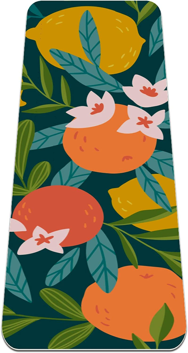 ASDFAS Yoga Seattle Mall Mat with Thickness Surfac Textured Non-Slip of Special price 0.25