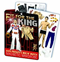 (Elvis) - Fit For the King - Elvis Presley Magnetic Magnetic Dress Up Play Set [並行輸入品]
