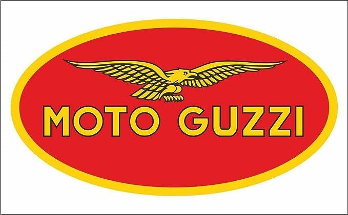 Graphic Lab Aufkleber Sticker Moto Guzzi Motogp Superbike Motorcycle Bikers Sticker Küche Haushalt