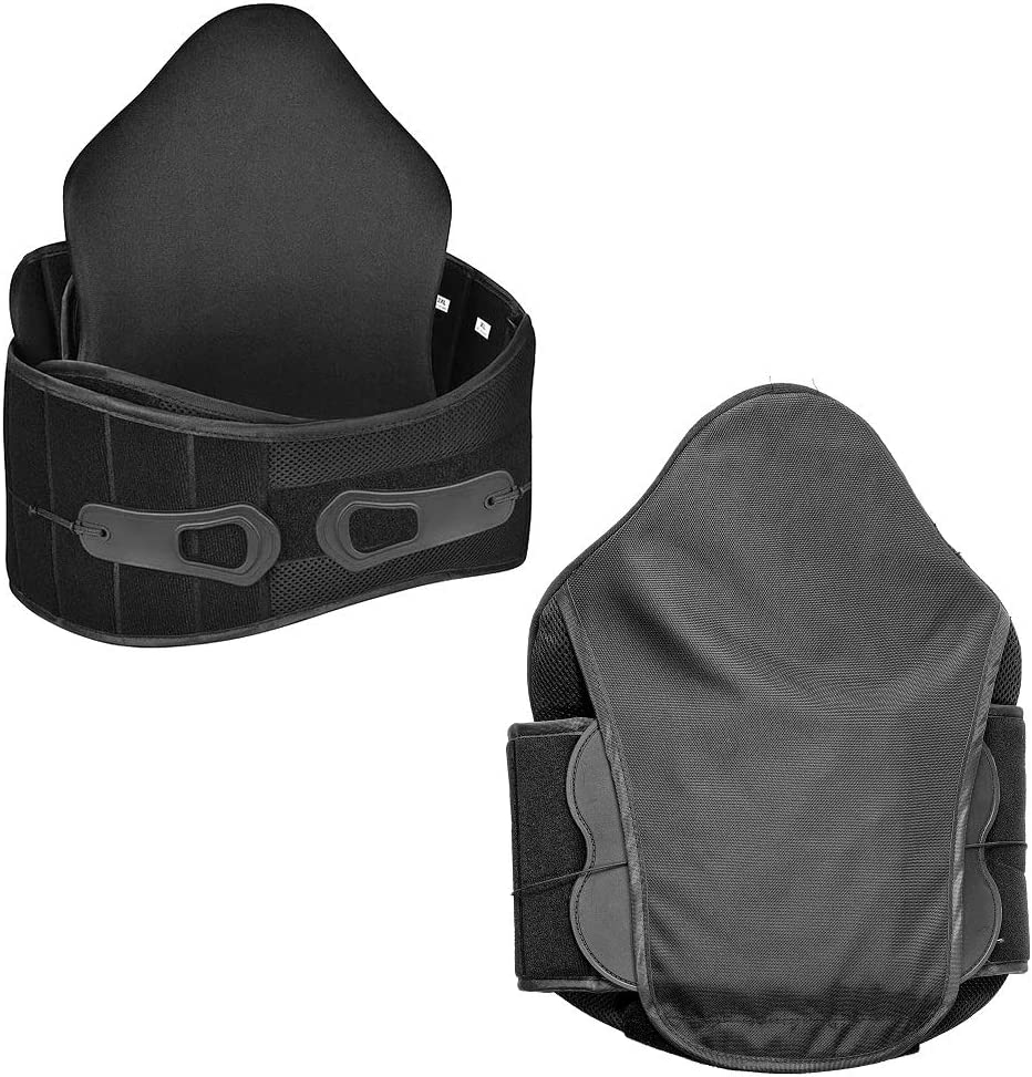 Back free Brace for Lower free shipping Pain B Shape Adjustable in