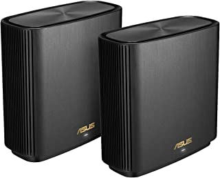 Asus Zenwifi Ax Whole-Home Tri-Band Mesh Wifi 6 System Xt8, Black
