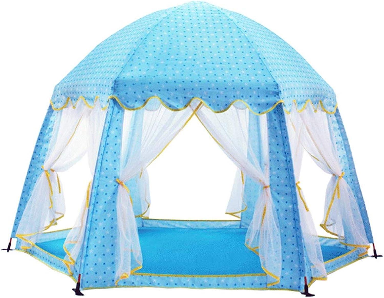 Kinderspielzelt Pop up Zelt Spielhaus Bllebad Spielzelt Mdchen Prinzessin Baby für Drinnen Drauen,Keine Notwendigkeit zu installieren,A