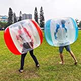 Inflatable Bubble Balls for Kids,Inflatable Buddy Bumper Balls Sumo Game,Giant Human Hamster Knocker Ball Body Zorb Ball for Child Outdoor Team Gaming Play for 6-50ages(2pcs 48inch)