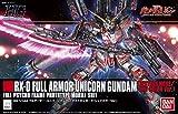 Bandai Hobby HGUC Full Armor Destroy Mode/Red Version Gundam Unicorn Model Kit (1/144 Scale), Multicolor, 8' (BAN207581)