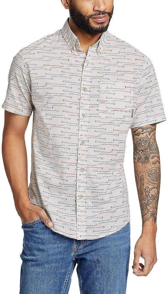 Eddie Bauer Men's Kingston Short-Sleeve Shirt - Pattern