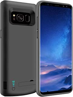 LOYTAL Battery Case for Samsung Galaxy S8, 5000mAh Rechargeable Extended Battery Charging Case, External Battery Charger C...