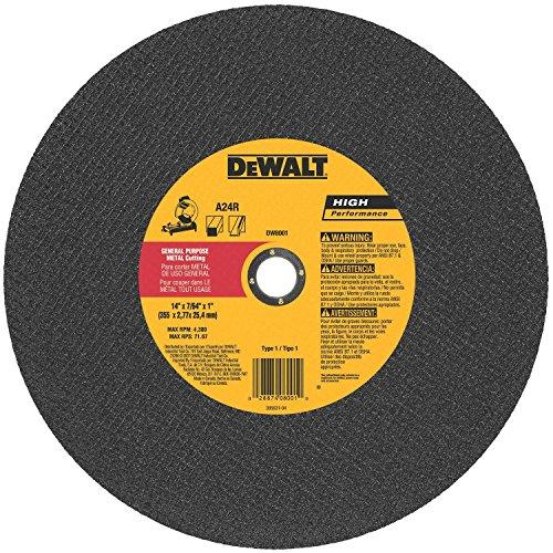 Dewalt Abrasive 14' Cut Off Wheel - 10 Pack