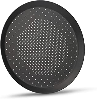 Pizza Pan with Holes, Beasea 10 Inch Nonstick Aluminum Alloy Round Vented Pizza Pans Pizza Crisper Pan Pizza Baking Tray Bakeware for Home Restaurant Kitchen