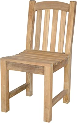 Anderson Teak Chelsea Dining Chair, Linen Straw