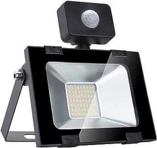 Hogar Iluminaci/ón con Movimiento Sensor 12.5cm Inal/ámbrico LED Luz para Interior y Exterior Port/átil Iluminaci/ón para Jard/ín Patio y Pared Caseta Negro Funciona con Pilas Compatible con Aa