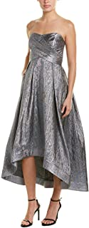 Shoshanna womens Dawn Strapless Fit and Flare Dress Dress
