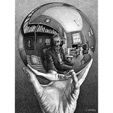 Buffalo Games M.C. Escher, Self Portrait - 1000pc Jigsaw Puzzle