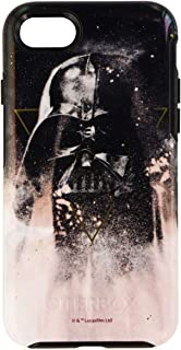 OtterBox Symmetry Series Disney Galactic Collection Case for iPhone 8 & iPhone 7 (NOT Plus) - Retail Packaging - Darth Vader (Black/Black/Darth Vader Graphic) (Renewed)