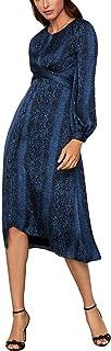 Women's Satin Blouson Dress
